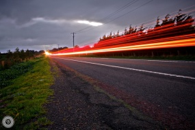 Roadside Light Trails