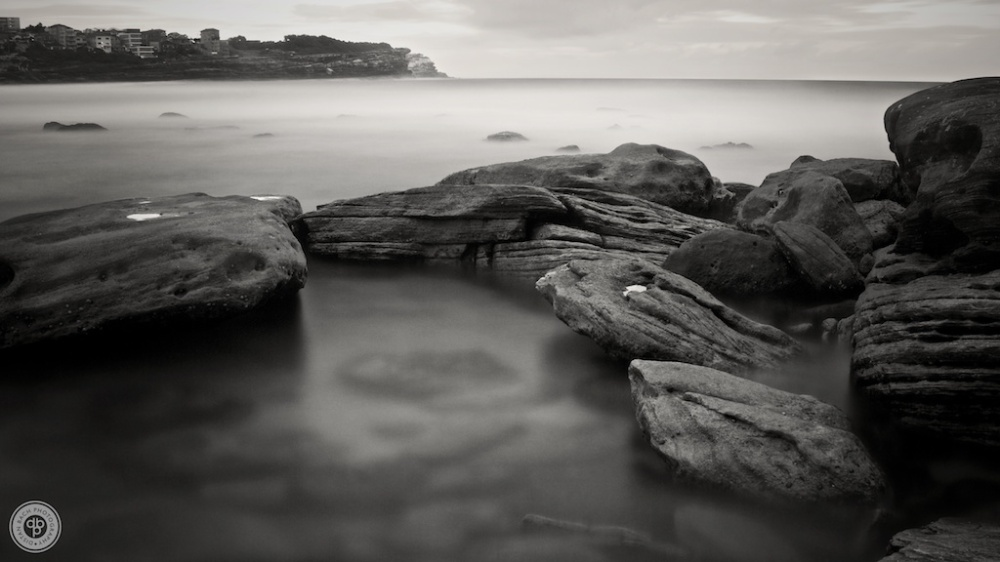 Bronte rockpool, looking north