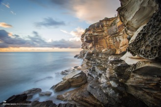 Bronte cliffs - wide angle