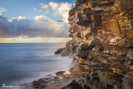 Bronte cliffs