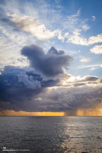 Rain on the horizon
