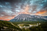 Holiday Road: Moody sunset over Banff
