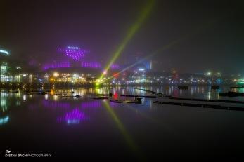 Foggy light show