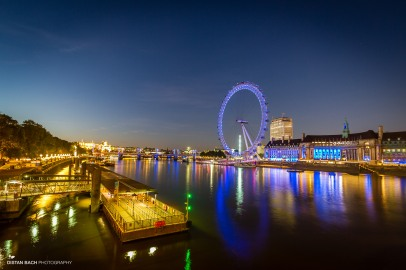 London Eye - wide angle