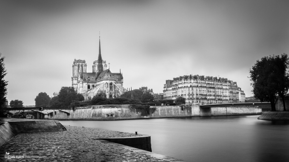 Notre Dame-B&W
