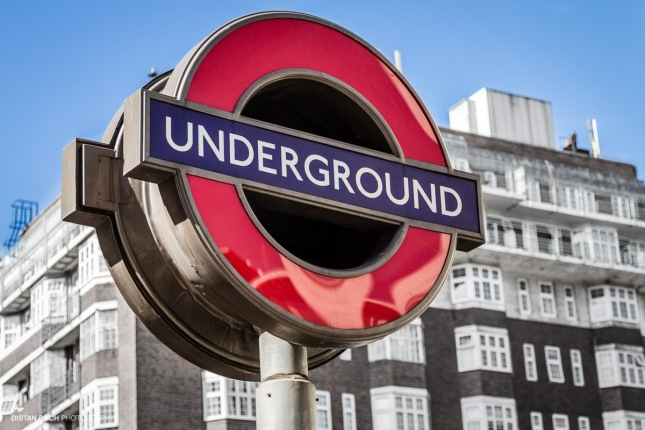 Harrods tube sign