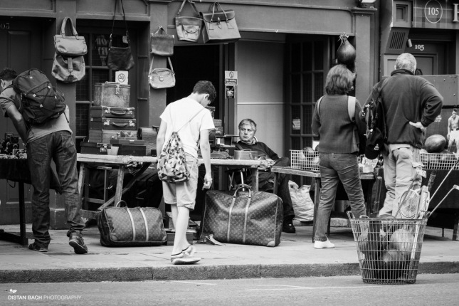 Stall holder, Portobello Road markets