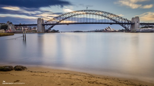 Sydney Harbour dawn-2