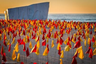 """Red Centre"" by Carl Billingsley (Tamarama beach)"