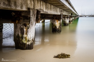 Below Balmoral Pier
