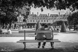 Lovers, Place des Vosges