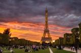 Eiffel Tower and surrounds,Paris