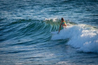 Early morning surfer at Bronte