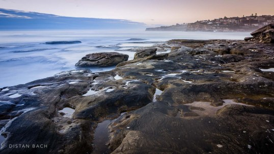 Mackenzie beach rock platform