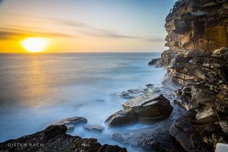 Sunrise over Bronte cliffs