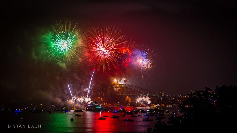 distanbach-2015 Sydney NYE Fireworks-10