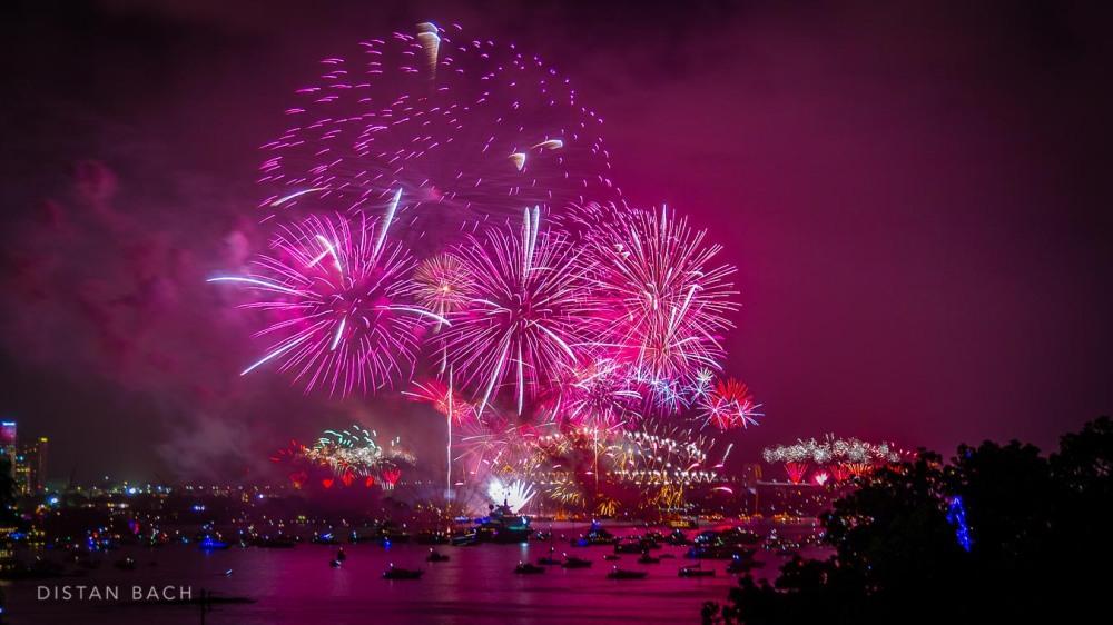 distanbach-2015 Sydney NYE Fireworks-2