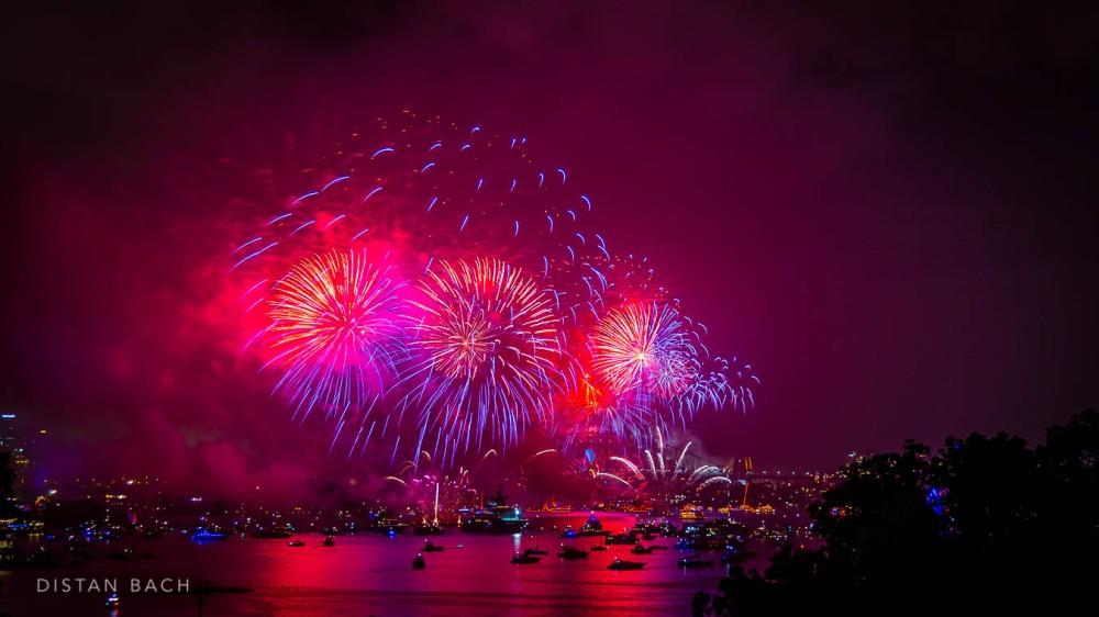 distanbach-2015 Sydney NYE Fireworks-5