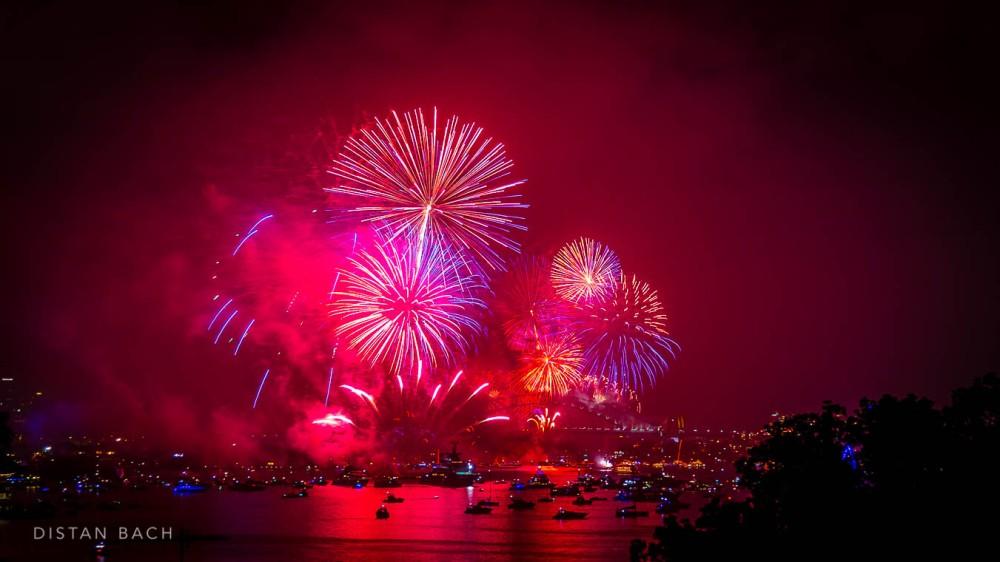 distanbach-2015 Sydney NYE Fireworks-6