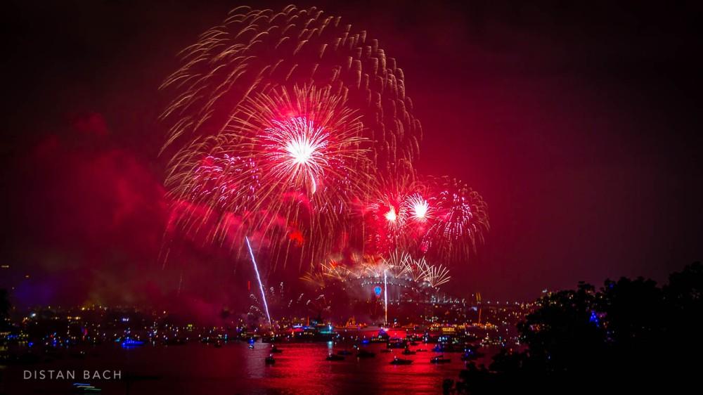 distanbach-2015 Sydney NYE Fireworks-7