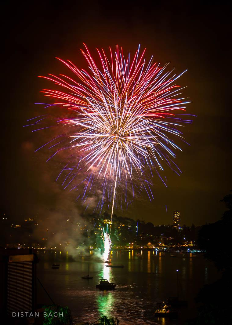 distanbach-2015 Sydney NYE Fireworks-9
