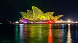 Vivid Light Festival: Sydney Opera House, Customs House and the MCA + some tips on how to photographVivid