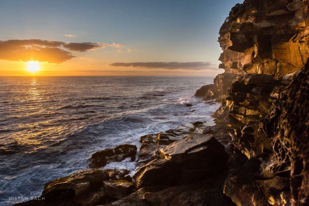 distan bach-New years sunrise 2016-Sydney-Bronte-11
