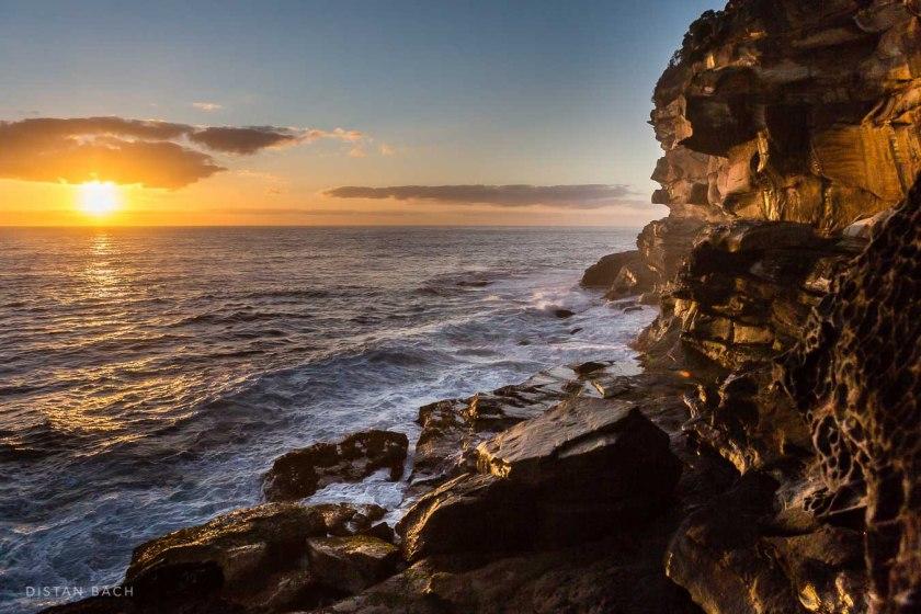 distan bach-New years sunrise 2016-Sydney-Bronte-11