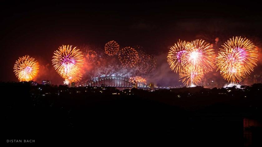 distan bach-Sydney New Years Eve Fireworks-2