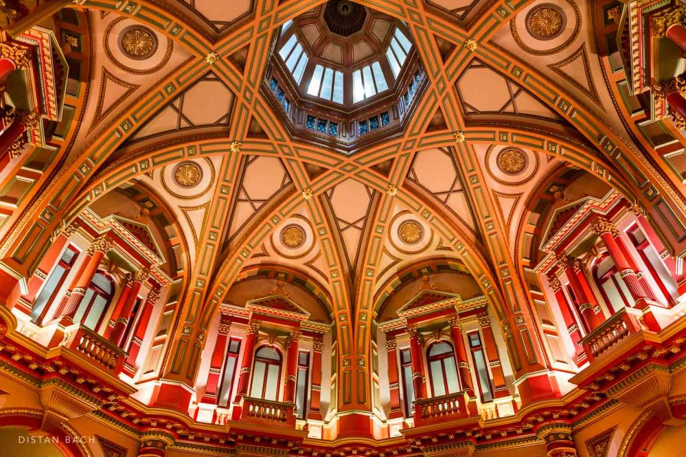 The Dome Ceiling, 333 Collins Street, Melbourne